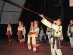 Piękne koncerty młodzieżowych zespołów folklorystycznych z Ukrainy w Gminie Skarbimierz.